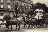 Leaving for the Races, 1900 Photographic Print