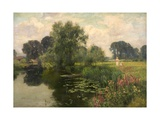 River Banks and River Blossoms, 1909 Giclee Print by Henry John Yeend King