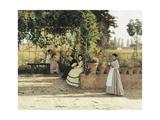 The Pergola, 1868 Giclee Print by Silvestro Lega