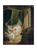 Study for the Indiscreet Bride Giclee Print by Pierre Antoine Baudouin