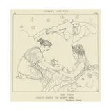 Infant Jupiter Giclee Print by John Flaxman