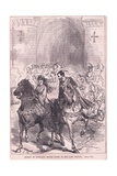 Robert of Normandy Paying Court to Lady Sibylla Giclee Print by Charles Ricketts