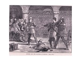 Marcel and the Dauphin of France Ad 1358 Giclee Print by Gordon Frederick Browne