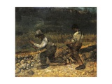The Stonebreaker Giclee Print by Gustave Courbet