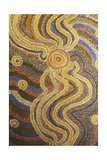 Aboriginal Art from Central Australia Giclee Print