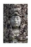 Face of King Uaxaclajuun Ub'Aah K'Awiil Giclee Print