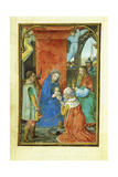 Adoration of the Magi, 1520's Giclee Print by Simon Bening