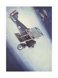 Searchlight Practice in the Royal Air Force Giclee Print