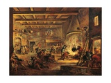 Pillaging Kitchen Giclee Print by Francesco Simonini