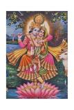 Krishna and Radha Giclee Print