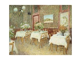 Interior of Restaurant, 1887 Giclee Print by Vincent van Gogh