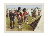 The Queen's Own Cameron Highlanders Giclee Print by Richard Simkin