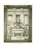 The Tomb of Lorenzo De' Medicis Giclee Print