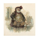Falstaff from Henry Iv, Part 1 Giclee Print by Henry Marriott Paget