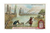 Oil Wells of Baku Giclee Print