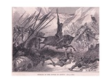 Richard at the Battle of Azotus Ad 1191 Giclee Print by Francois Edouard Zier