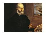 Portrait of Giulio Clovio Giclee Print by  El Greco