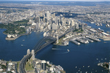 Aerial View of Sydney, New South Wales Photographic Print