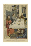 Tablecloth Giclee Print by Jan Gossaert