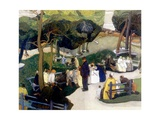 In the Park, 1922 Giclee Print by Anthony Angarola