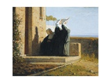 Nuns Giclee Print by Vincenzo Cabianca