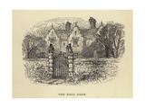 The Hall Farm Giclee Print by William Small