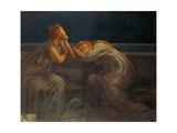 Nocturne, 1908 Giclee Print by Gaetano Previati