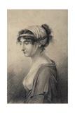 Portrait of Pauline Bonaparte, Princess Borghese Giclee Print by Jean Baptiste Joseph Wicar