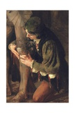 Study for Equipped Giclee Print by Solomon Joseph Solomon