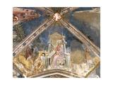Saint Luke, Fresco Giclee Print by Bonifacio Bembo