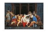 Plato's Symposium Giclee Print by Giovanni Battista Gigola