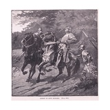The Arrest of King Richard AD 1339 Giclee Print by Gordon Frederick Browne