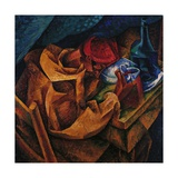 Drinker Giclee-trykk av Umberto Boccioni