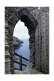 The Coastline Seen from Tintagel Castle Giclee Print
