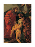 Via Crucis, Tenth Station, 1747 - 1749 Giclee Print by Giandomenico Tiepolo