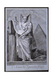 The Architect in a Greek Style, 1771 Giclee Print by Ennemond Alexandre Petitot