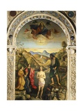 Baptism of Christ, 1500-1502 Giclee Print by Giovanni Bellini