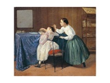 The Tickle, 1865 Giclee Print by Adriano Cecioni