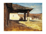 Rustic Landscapes in Japan Giclee Print by Antonio Fontanesi