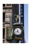 Father Time Clock, Jewelers Building Giclee Print