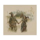 Hiawatha Giclee Print by Joseph Finnemore