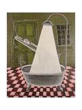 The Shower, 1990 Giclee Print by Celia Washington