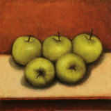 Granny Smith Apples Posters by Bill Creevy