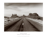 Highway 163, Monument Valley, Arizona Print by Monte Nagler