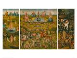 Il giardino delle delizie Stampa giclée di Hieronymus Bosch