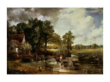 The Haywain, 1819 Art par John Constable
