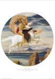 Perseus On Pegasus With the Head of Medusa Poster by Frederick Leighton