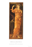 Sibylla Delphica Posters by Edward Burne-Jones