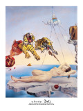 Dream Caused by the Flight of a Bee Around a Pomegranate, c. 1944 Giclee Print by Salvador Dalí