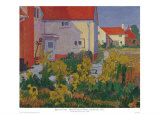 Harold Gilman's House at Letchworth Print by Spencer Gore